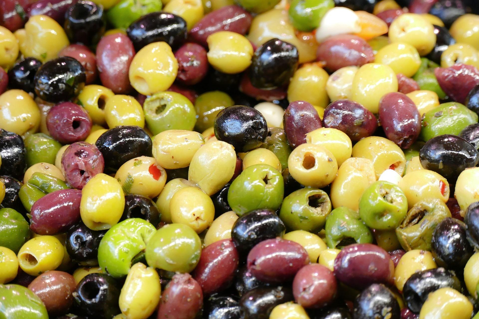 bloemkool met olijven