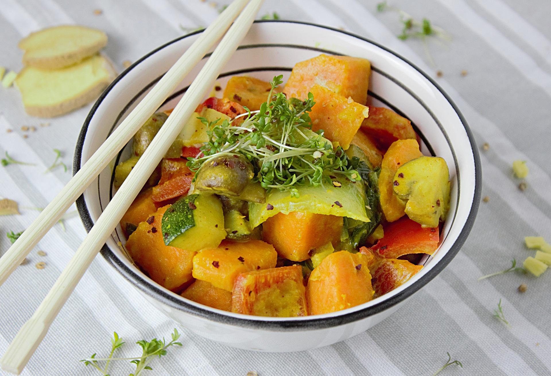 groentecurry met bloemkool